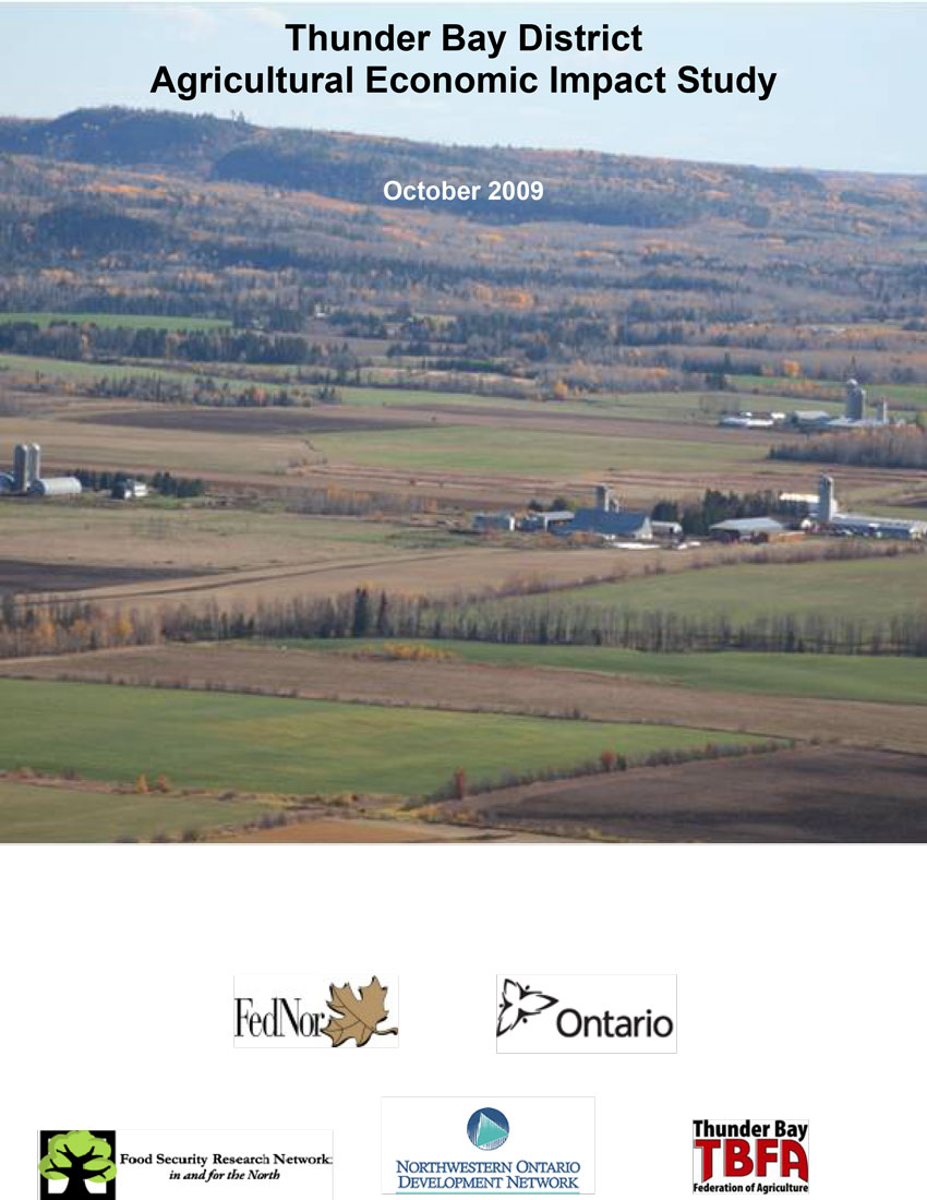 2009 Agricultural Economic Impact Study